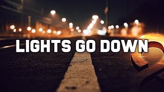 """Lights Go Down"" Emotional Trap Beat Free Sad Rap Hip Hop Instrumental Music 2019 