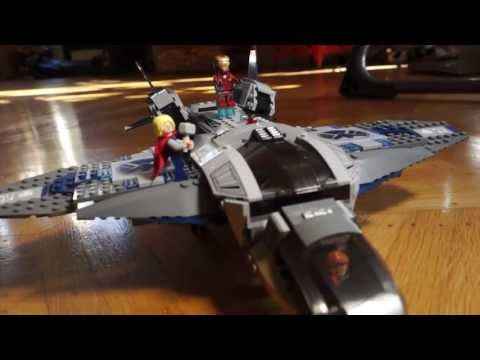 Sony Action Cam Geek challenge: Building The Avengers LEGO plane
