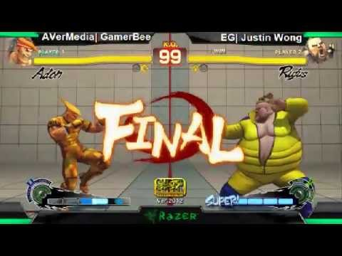 SS2K12 AE2012: GamerBee (Adon) vs Justin Wong (Rufus) - Day 1 (Winners Pool Match)