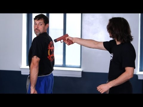 Krav Maga Defense against Gun from the Rear | Krav Maga Techniques Image 1