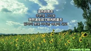 [최가전남우 OST][달달한 듀엣] 被风吹过的夏天(바람이 불던 여름) by 林俊杰X金莎(임준걸X금사) 2005 [歌词&한글자막]