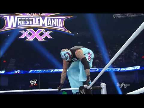 Rey Mysterio Vs. Jack Swagger Vs. Kofi Kingston Vs. Mark Henry video