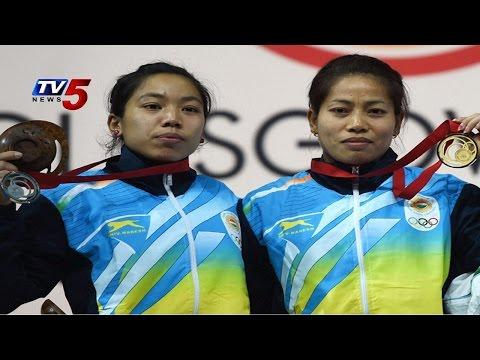 Commonwealth Games 2014   Lifter Sanjita wins India's 1st gold medal : TV5 News