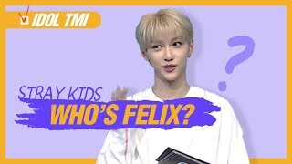 [Pops in Seoul] What is Felix(필릭스,Stray Kids)'s TMI?
