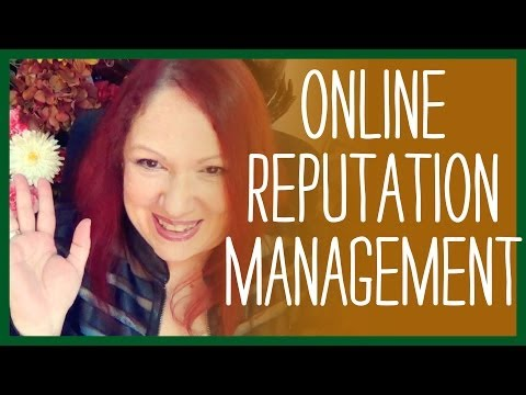 Online Reputation Management -- Free Tools that You can Use
