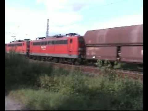 Passenger & Freight Trains at the Rhine Germany ║ Güterzüge class66 Baureihe BR 151 140 152 189 185