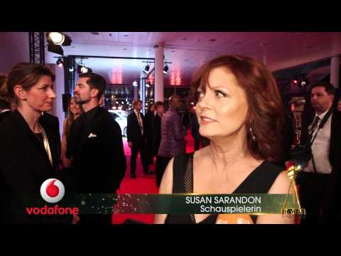 Susan Sarandon im Interview – GOLDENE KAMERA 2015