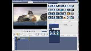 Ulead VideoStudio 11 ders 2 video montaj