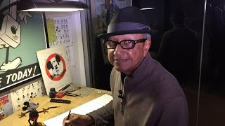 How To Draw Mickey Mouse with Floyd Norman | Quick Draw | Disney LIVE