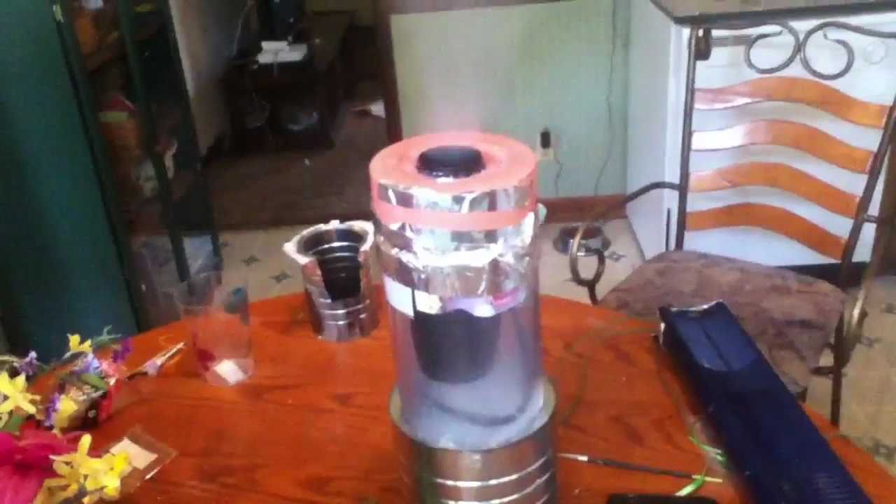 Dry Ice Home Made Air Conditioner Youtube
