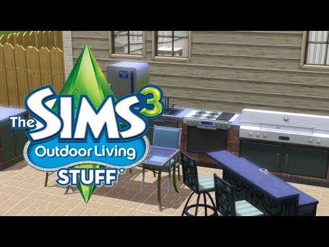 LGR - The Sims 3 Outdoor Living Stuff Pack Review
