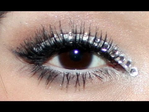 Rhinestones Eye Makeup