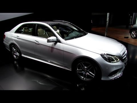 2014 Mercedes-Benz E350 4matic - Exterior and Interior Walkaround - 2013 Detroit Auto Show