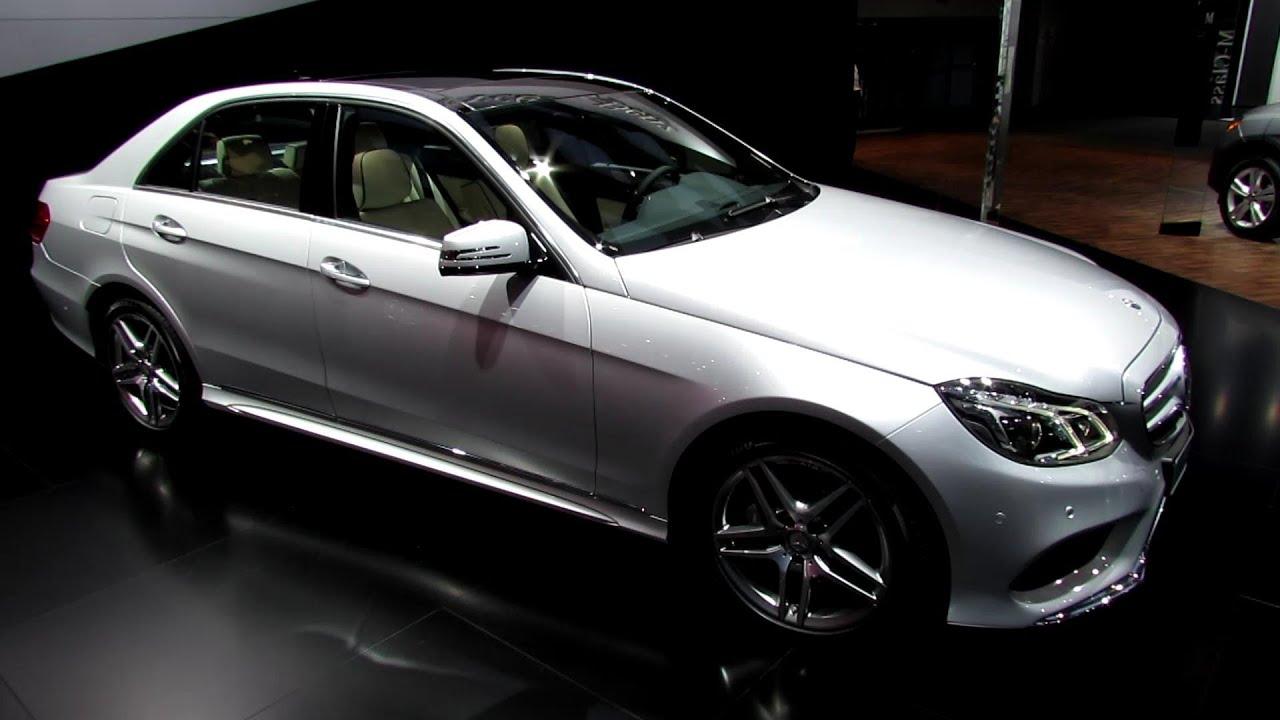 2014 Mercedes Benz E350 4matic Exterior And Interior