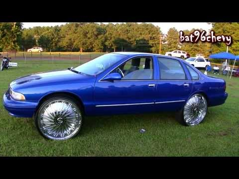 Blue/Silver 96 Impala SS on 28