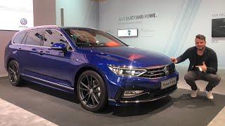 (2019) VW Passat Facelift B8   Review   Test   Details   Variant l   Alltrack   GTE   R-Line   Motor