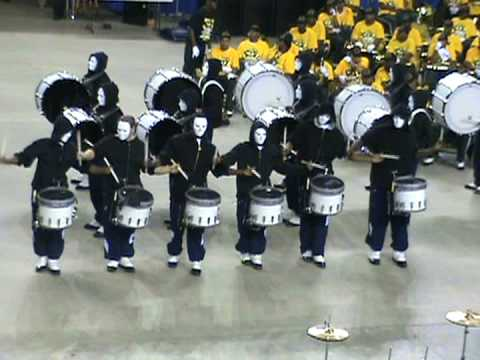 Hampton University Drumline Block 2008 vs. NSU