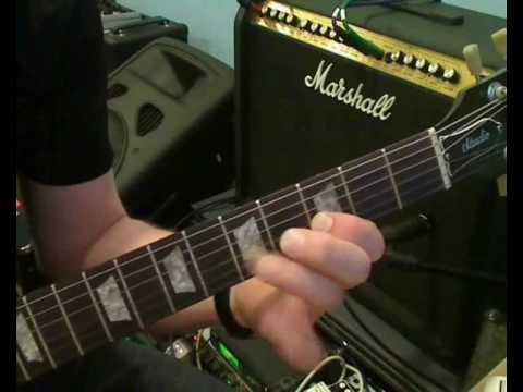 Kurs Gry Na Gitarze Elektrycznej - Materiał Do Lekcji 4. Ćwiczenie Pull-off, Hammer-on