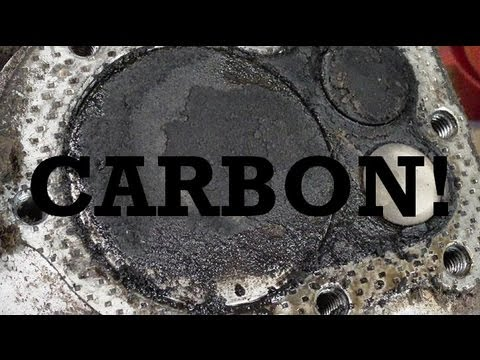 Major Carbon Build Up in a 3 Horse Briggs and Stratton Push Mower Engine!!!