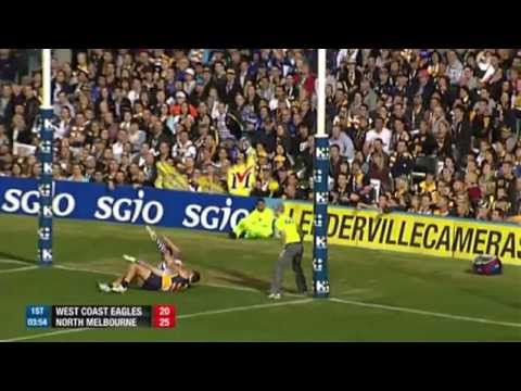 Round 8 AFL - West Coast v North Melbourne Highlights