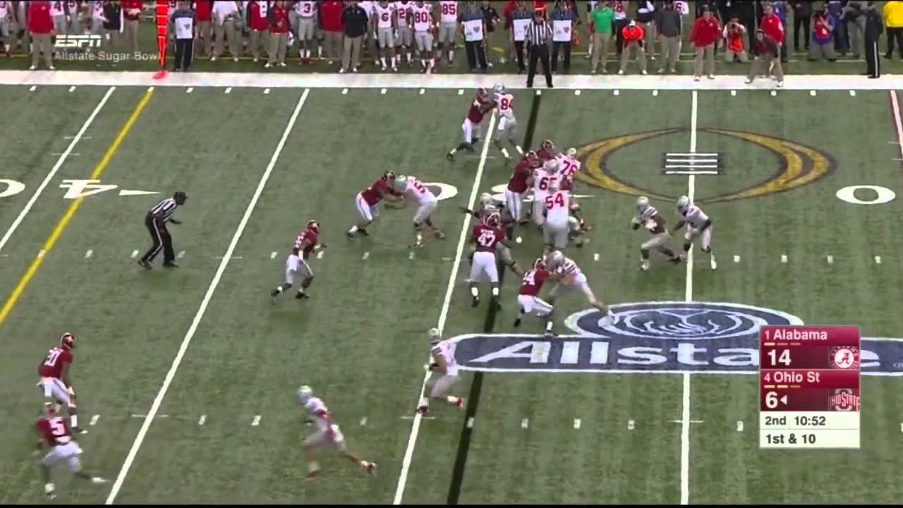 Taylor Decker vs Alabama (2014)