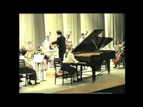 Anna Shelest - 12 Years Old - Rachmaninoff Concerto No.1 (2/2)