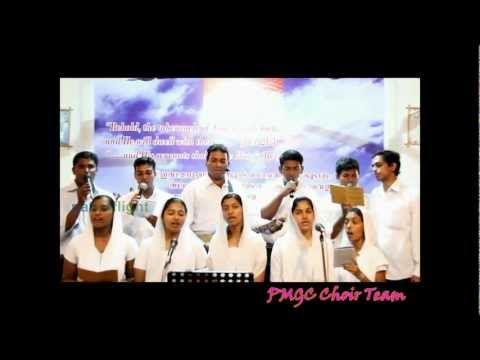 PMGC Choir group.