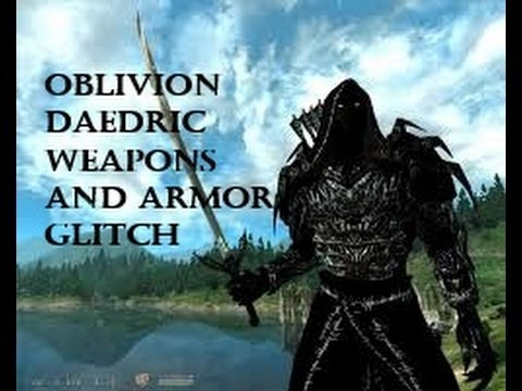 Oblivion Weapons And Armor Oblivion Daedric Armor