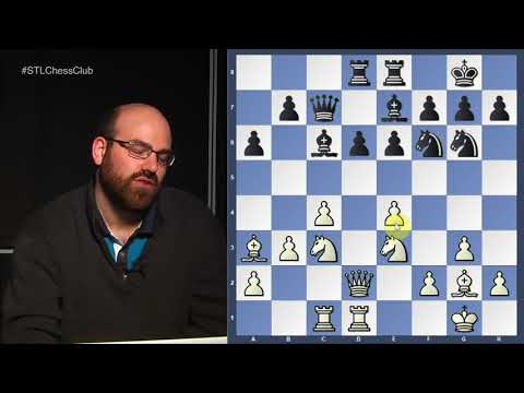 Friedel vs. IM Thavandiran, 2017 Chicago Open | Strategy Session - GM Josh Friedel