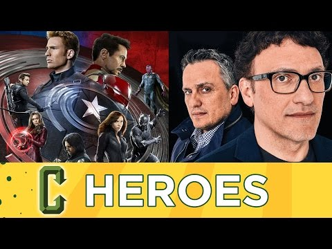 Collider Heroes Interview - Captain America Civil War Directors Joe and Anthony Russo (Spoilers)