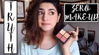 Desi Makeup | Zero Makeup Palette By Nabila | Honest Review, Swatches & Price | Glossips
