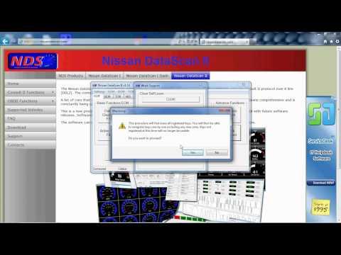 Nissan Datascan Ii   Immobiliser Key Programming