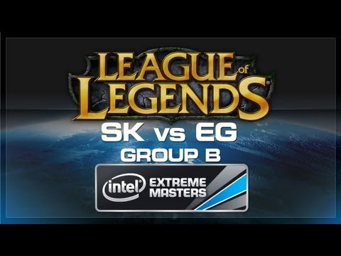 SK vs EG - LoL (Group B) - IEM World Championship 2013