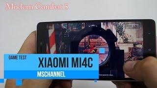 MSmobile - Game test on Xiaomi Mi4c 3GB RAM
