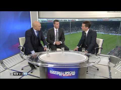 Newcastle United vs Manchester City half time analysis (15 December 2012)