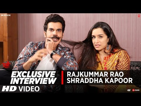 Exclusive Interview: Rajkummar Rao & Shraddha Kapoor | STREE | Movie ►Releasing Tomorrow