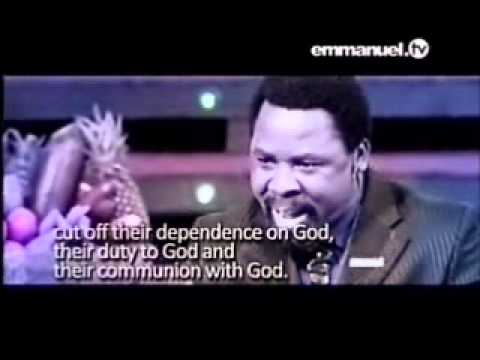 Don't Concentrate On Your Situation - Tb Joshua Sermon Summary video