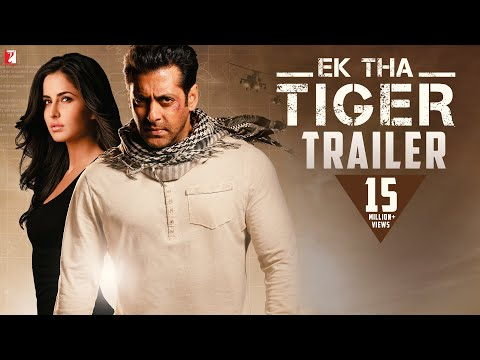 EK THA TIGER - Theatrical Trailer - Salman Khan & Katrina Kaif