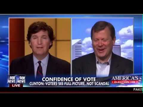 Peter Schweizer talks to Tucker Carlson about details of State Department Investigation