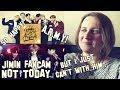 BTS - NOT TODAY -JIMIN Focus @Golden Disk Awards - A.R.M.Y REACTION