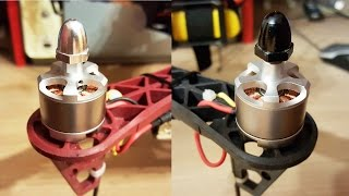 Setup motors (2212 920KV) on drone F450+APM. Left and right thread.