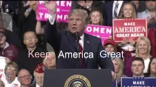 President Trump has Announced His 2020 Campaign Slogan