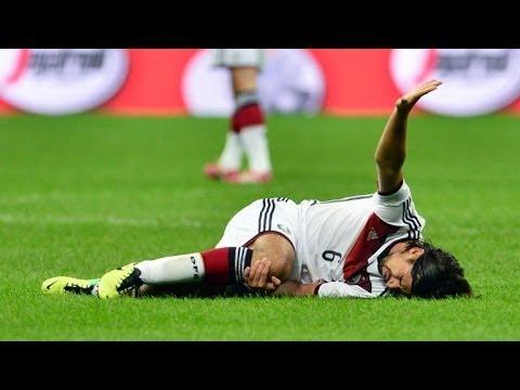 Khedira muss nach Kreuzbandriss um WM-Teilnahme fürchten