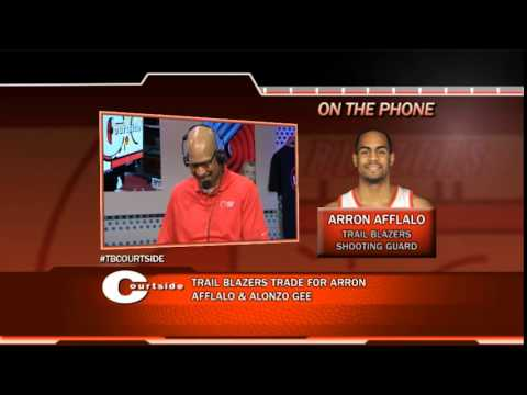 Courtside - Arron Afflalo on Moving to Rip City