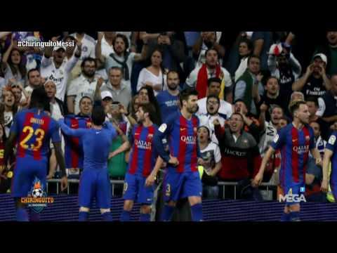 Lo que no has visto de la celebración de Messi en El Clásico ante el Real Madrid