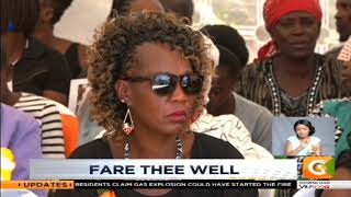 NEWS WRAP | The burial of the late Mary Kori Wambui was held today in Mweiga, Nyeri county