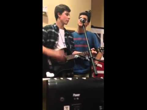 im yours jack gilinsky and shawn mendes cover youtube
