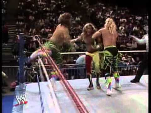 The Rockers vs. Bill Lucas & Barry O (WWF 1991)