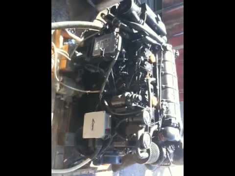 300hp 4.2 cummins, mercruiser bravo spec, sterndrive marine diesel.