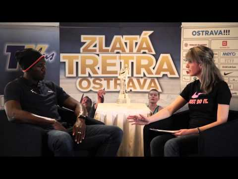 Interview with Usain Bolt in our studio